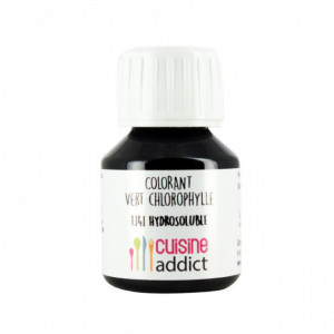Colorant Alimentaire Naturel Vert Chlorophylle E141 Liquide 58 ml Cuisineaddict