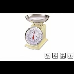 Balance Mécanique Tradition 500 Crème 5kg Terraillon