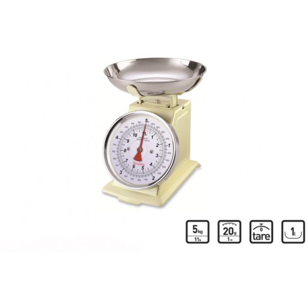 Balance Mecanique Tradition 500 Creme 5kg Terraillon