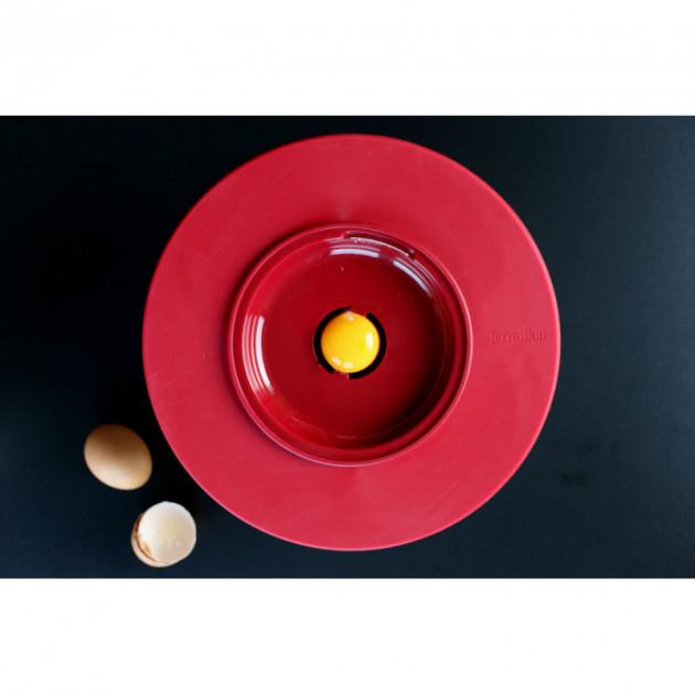 Cul de Poule Inox avec separateur de jaune d'oeuf
