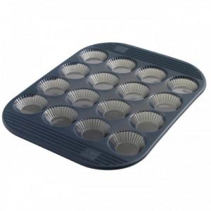 Moule à Tartelette Cannelée Silicone (x16) Mastrad