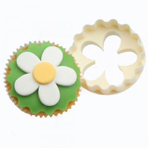 Emporte Pièce Spécial Cupcake double cotés Fleur