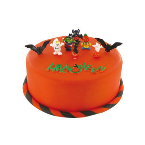 Kit Décor Gâteau Halloween (9 pièces)