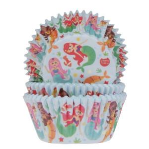 Caissettes Cupcakes Sirènes (x50)
