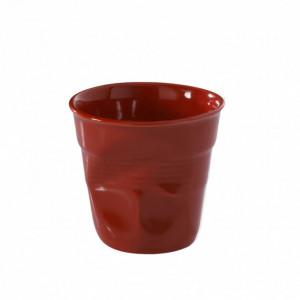 Gobelet Froissé Rouge Piment 8cl Revol