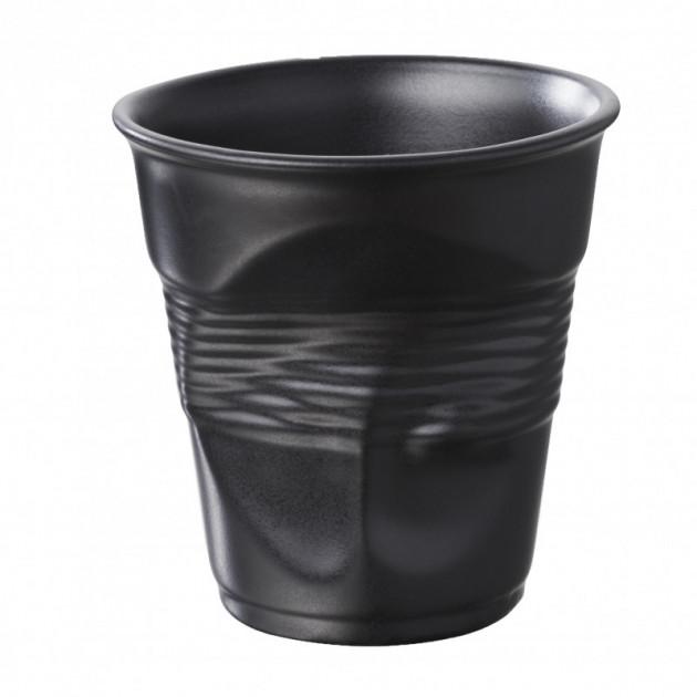 Gobelet Froisse Noir Satine 18cl Revol
