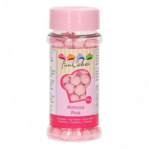 Décors en Sucre Mimosa Rose 45g Funcakes