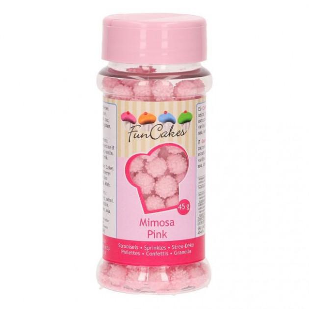 Decors en Sucre Mimosa Rose 45g Funcakes