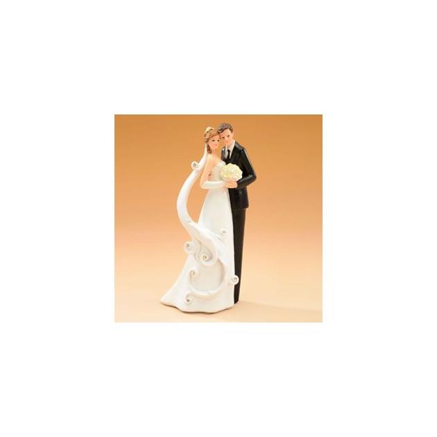 Figurine Mariage Couple 21 cm