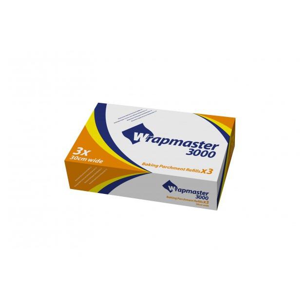 Papier Cuisson 50 m Devidoir Wrapmaster 3000 (x3)