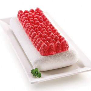 Moule Silicone Fruits Rouges 28 x 12 cm Silikomart 3D Design