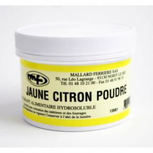 Colorant alimentaire Jaune Citron E102 Poudre Hydrosoluble 100g