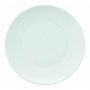 FIN DE SERIE Assiette Galuchat en Porcelaine Blanche 27 cm