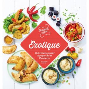Livre de cuisine 100 recettes exotiques, chez Hachette