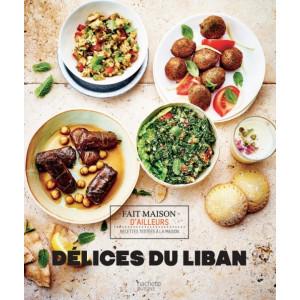 Livre de recettes Délices du Liban, chez Hachette