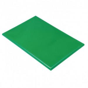 Planche à Découper 40x30 cm H 2cm Polyéthylène Vert