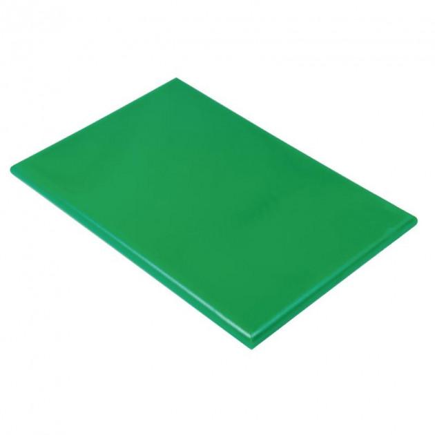 Planche a Decouper 40x30 cm H 2cm Polyethylene Vert