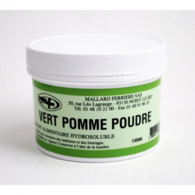 Colorant alimentaire Vert Pomme E102/E131/E129 Poudre Hydrosoluble 100g