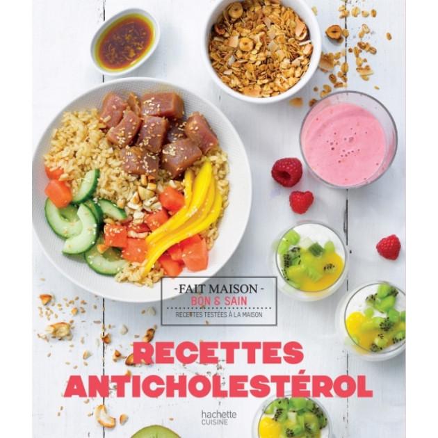 Livre de recettes Anticholestérol. chez Hachette