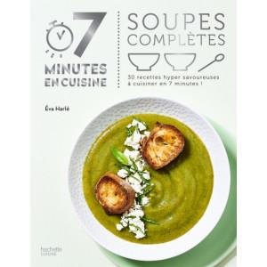 Livre de recettes soupes complètes, chez Hachette