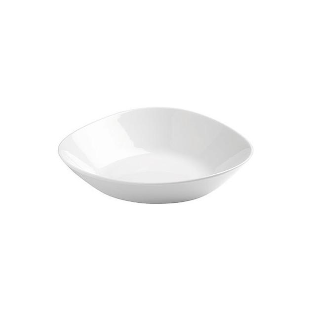 Assiette a Salade Porcelaine Triangulaire