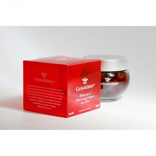 Griottines - Coffret de 35 cl - Cerises Griottes a la liqueur et au kirsh