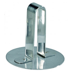 Poussoir à Cercle Inox 6 cm Mallard