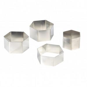Nonnette Hexagonale Inox Ø 8 cm H4 cm