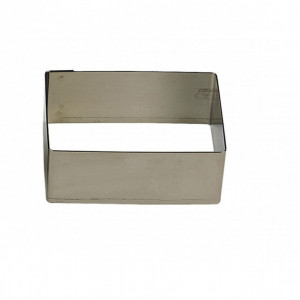 Nonnette Rectangle Inox 5 x 3,5 cm x H 3 cm Gobel