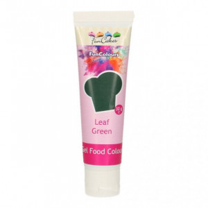 Colorant gel alimentaire Vert feuille FunCakes 30 g