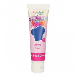 Colorant gel alimentaire Bleu royal FunCakes 30 g