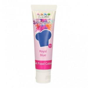 Colorant gel alimentaire Bleu royal FunCakes 30 g