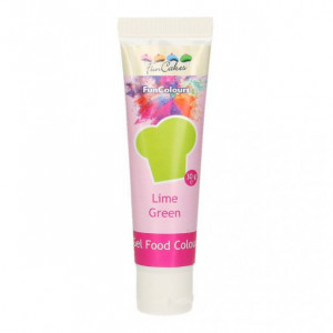 Colorant gel alimentaire Vert citron FunCakes 30 g