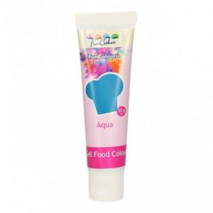 Colorant gel alimentaire Bleu eau FunCakes 30 g