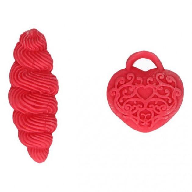 Exemple d'utilisation du gel alimentaire rouge coquelicot