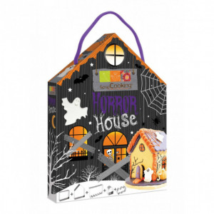Kit 5 emporte-pièces inox Halloween Horror House ScrapCooking