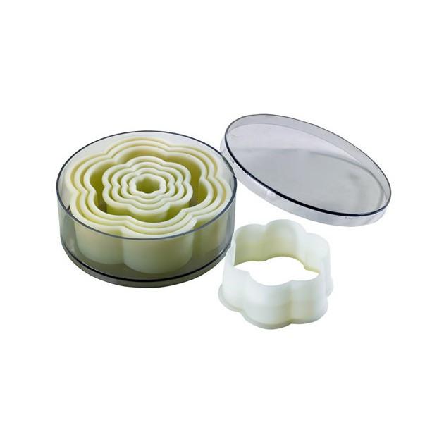 Emporte Piece Fleur Uni Polyglass (x8)