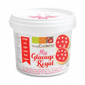 Glaçage Royal Rouge 190 g ScrapCooking