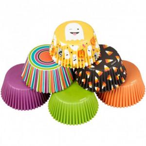 Caissette Cupcake Fantôme Emoji (x150) Wilton