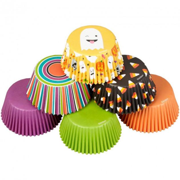 Caissette Cupcake Fantome Emoji (x150) Wilton