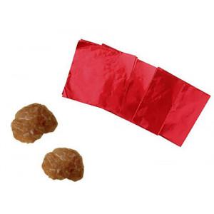 Emballage Papier Paraffiné Rouge 10x10 cm (x1000)