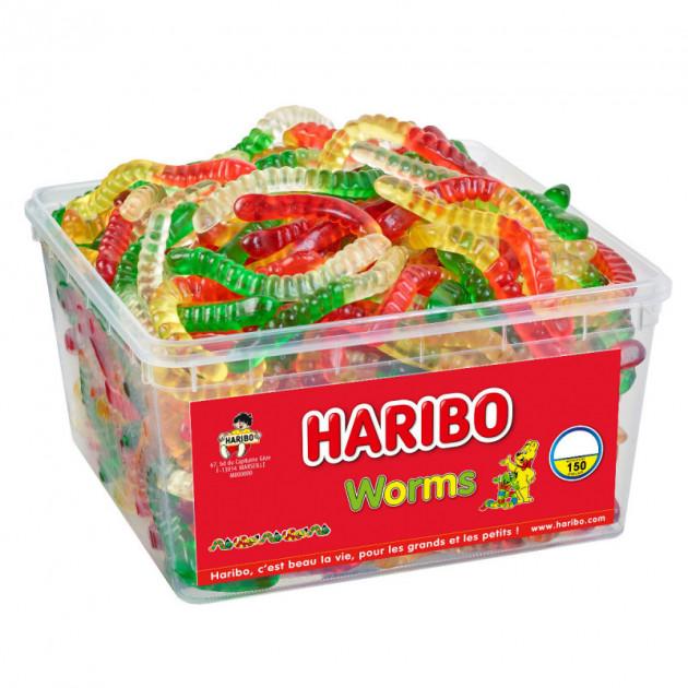 Worms x 150 - Boîte Bonbon Haribo