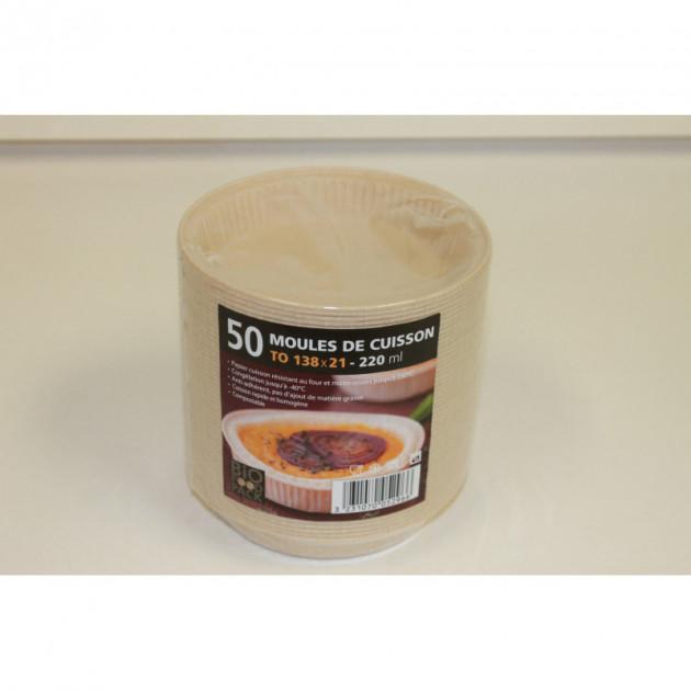 Moule cuisson papier 220 ml
