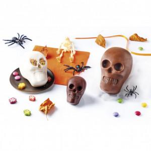 FIN DE SERIE Moule Chocolat Crâne (x6) Mastrad