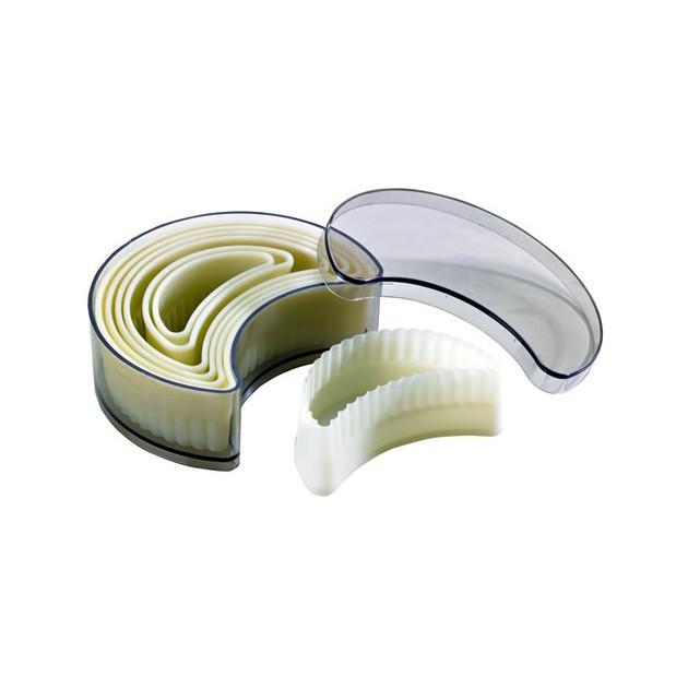 Emporte Piece Croissant Cannele Polyglass (x7)