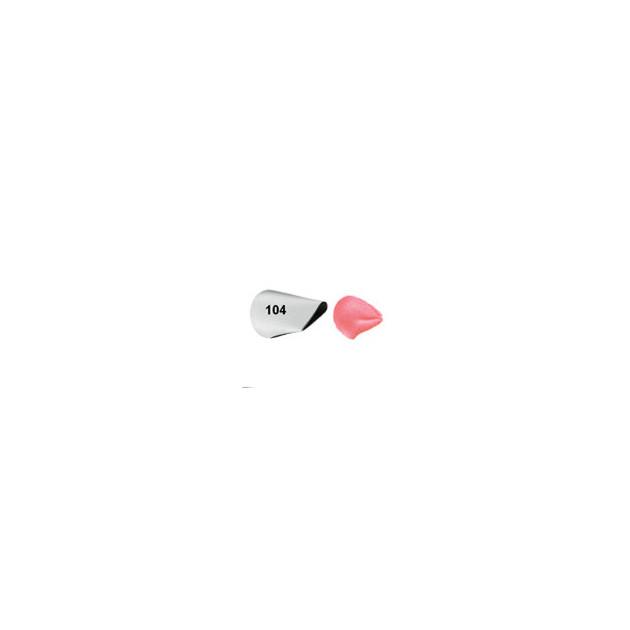 Douille patissiere effet petales de Roses Wilton (n°125)