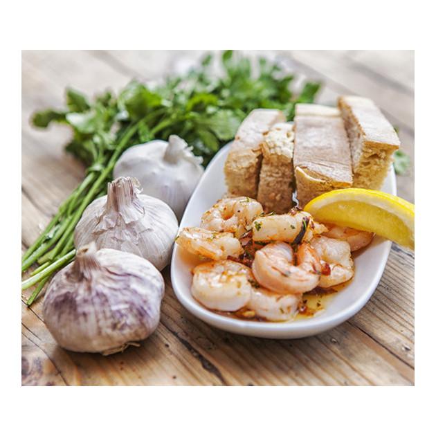 Crevettes decortiquees avec Le Nautil