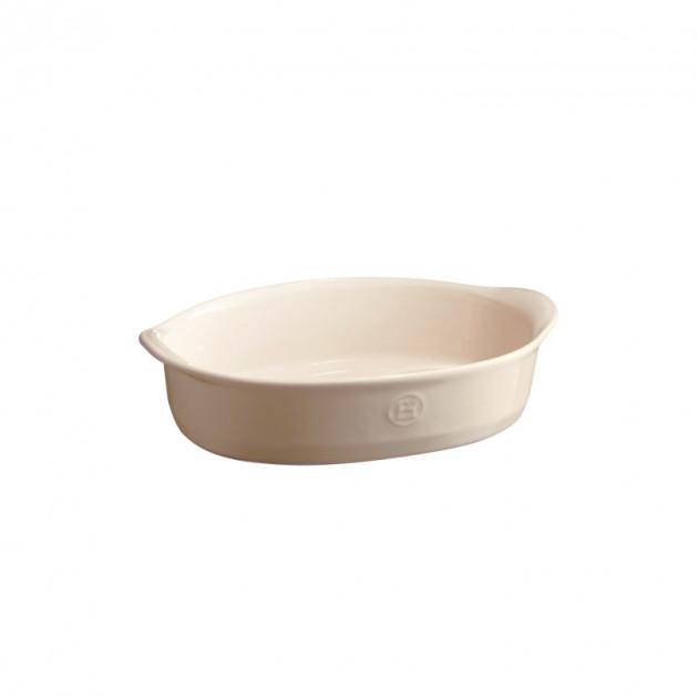 Plat en Ceramique Ovale 27.5 x 17.5 cm
