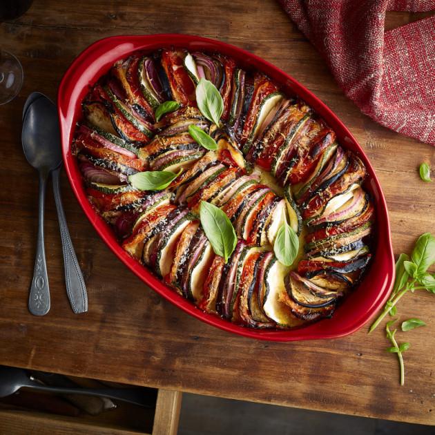 Idee de recette avec le plat en ceramique