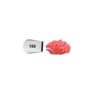 Douille pâtissière effet pétales d'oeillet Wilton (n°150) Inox